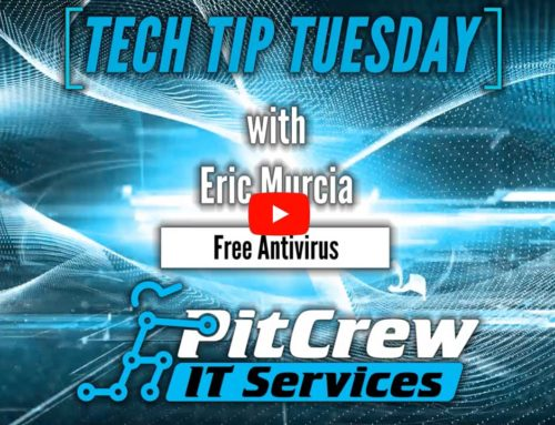 Tech Tip Tuesday – Great Antivirus for Free