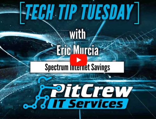 Tech Tip Tuesday – Spectrum Internet Savings