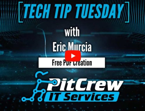 Tech Tip Tuesday – Free PDF File Creation