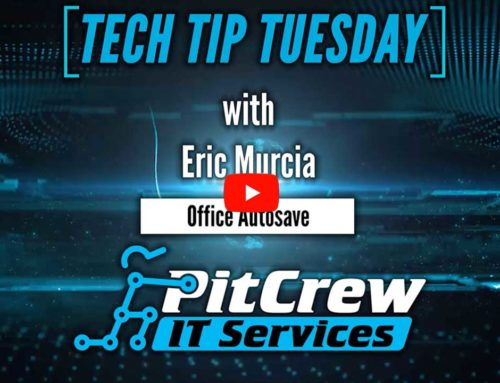 Tech Tip Tuesday – Microsoft Office Autosave to the Rescue