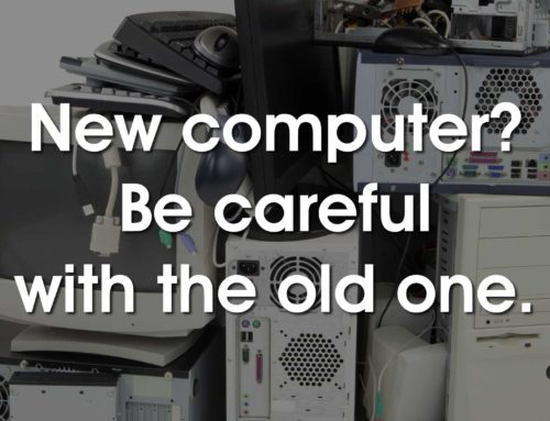 The Most Important Step in Decommissioning Old Hardware