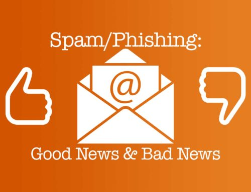 Good & Bad News about Spam & Phishing