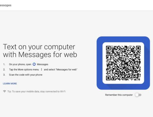Texting from a Browser with Android Messages