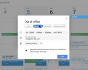 G-Suite Google Calendar Out of Office Working Hours
