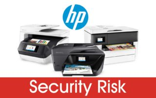 HP Printers Security Vulnerability Risk