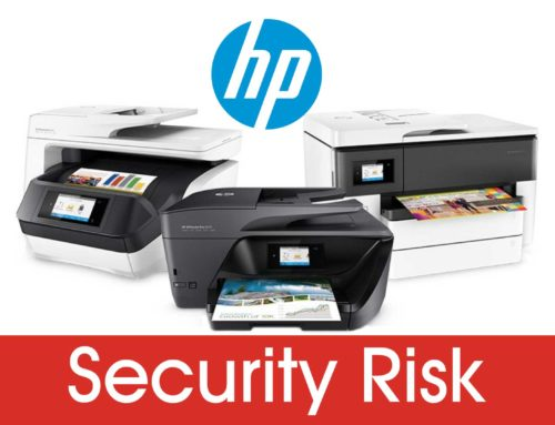 HP Printers Include Massive Security Risk