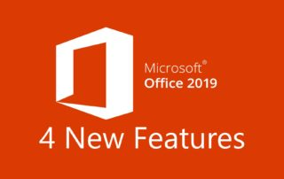 Office 2019 4 New Features