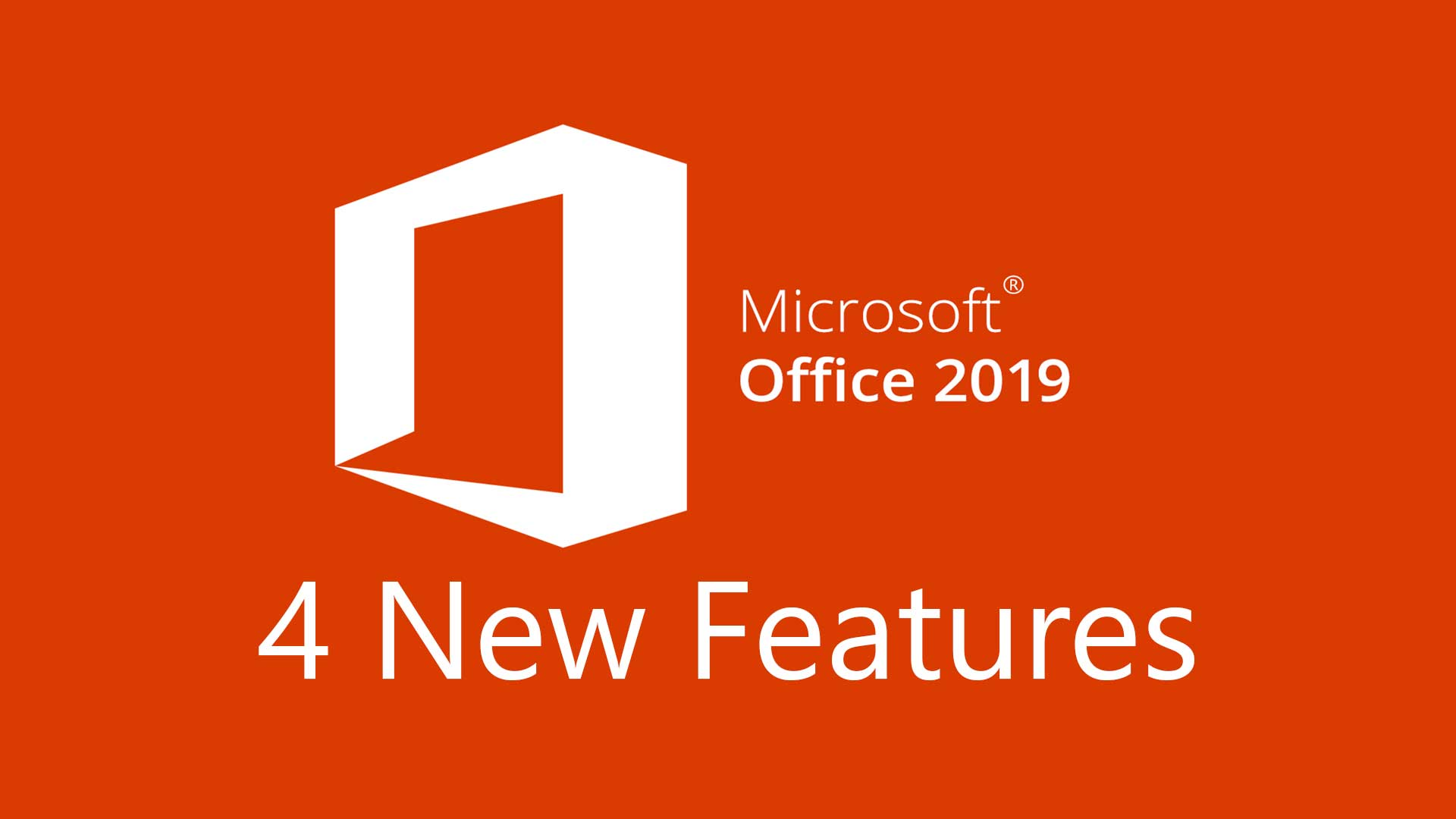 4 Important Microsoft Office 2019 Features | Pit Crew IT