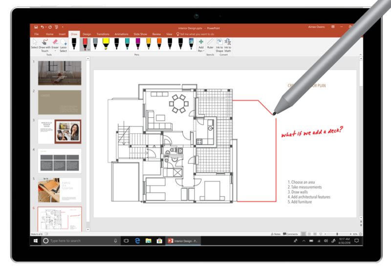 Office 2019 Preview - Inking