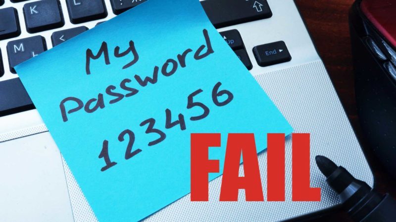 How to Not Fail at Passwords