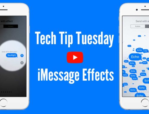 Tech Tip Tuesday – iMessage Effects