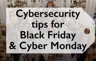 5 Tips Cybersecurity Black Friday Cyber Monday