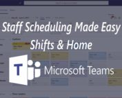 Staff Scheduling Shifts Home Microsoft Teams