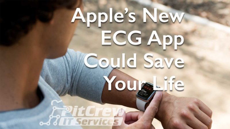 Apple Watch ECG App Could Save Lives