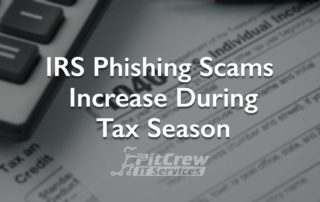 IRS Phishing Scams Tax Season