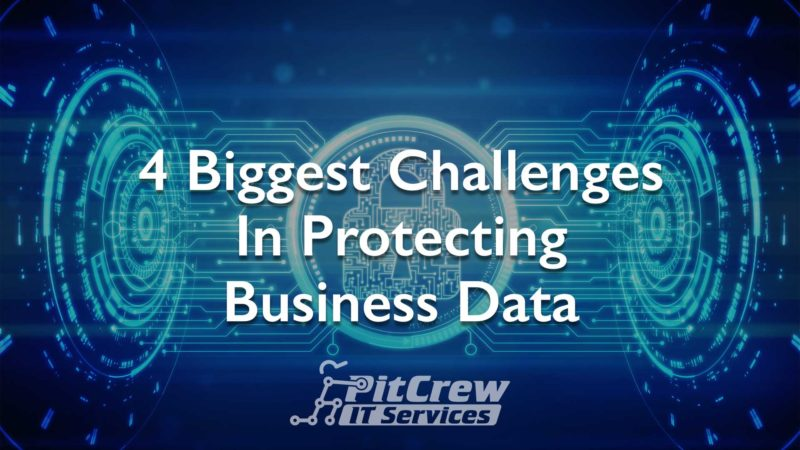 4 Biggest Challenges Business Data Protection