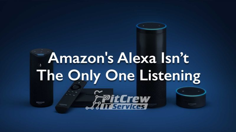 Amazon Alexa Not Only One Listening