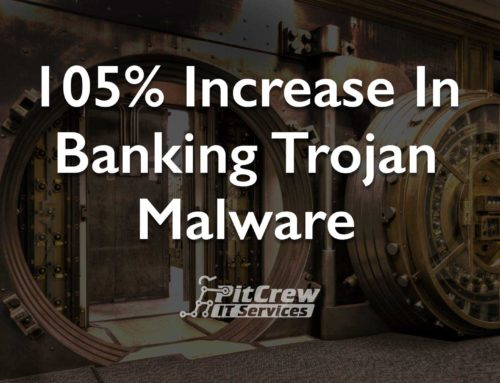 105% Increase in Banking Trojan Malware
