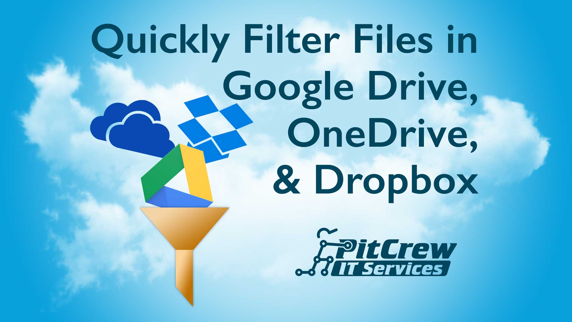 Quickly Filter Files in Cloud Storage