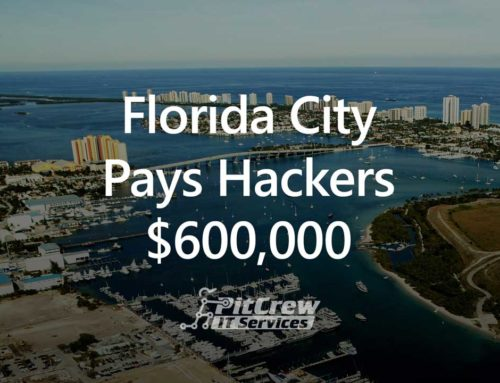 Florida City Pays Hackers $600,000
