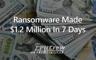 Ransomware Made 1.2 Million in 7 Days