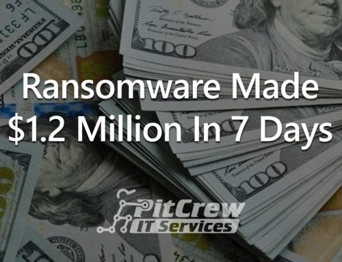 Ransomware Made $1.2 Million in 7 Days