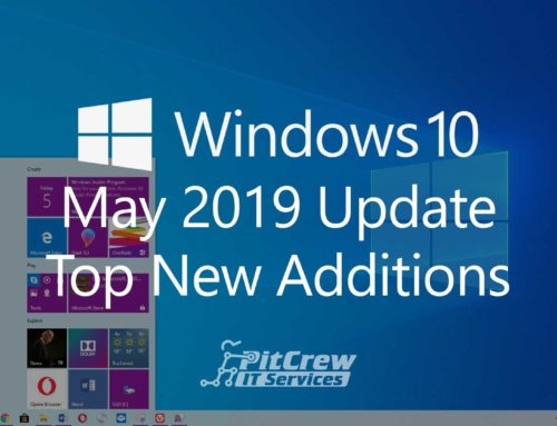 Top Additions In Windows 10 May 2019 Update