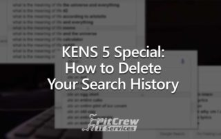 KENS 5 Special Delete Google Search History