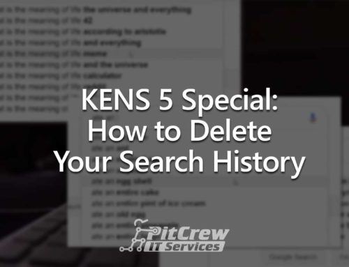 KENS 5 Special: How to Delete Your Search History