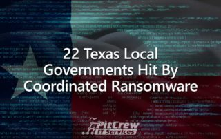 22 Texas local governments hit by ransomware