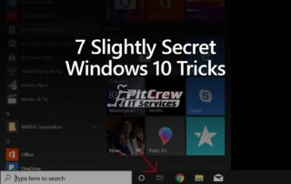 7 Slightly Secret Windows 10 Tricks