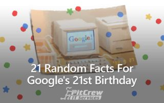 21 Random Facts for Google's 21st Birthday