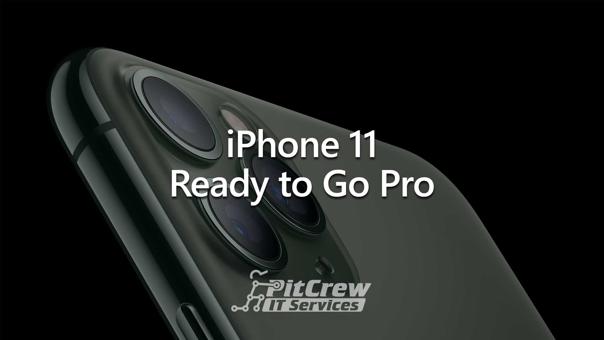 iPhone 11 Ready to go Pro