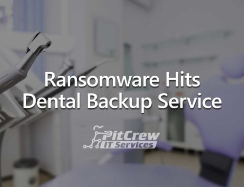 Ransomware Hits Dental Backup Service