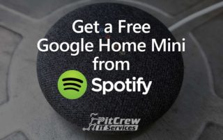 Get a Free Google Home Mini from Spotify