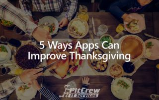 5 Ways Apps Can Improve Thanksgiving