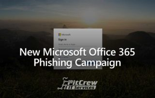 New Microsoft Office 365 Phishing Campaign