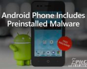 Android Phone Includes Preinstalled Malware