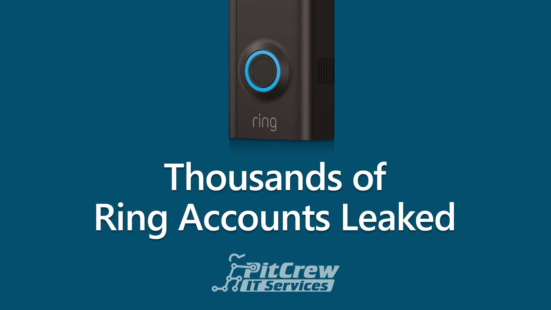 Thousands of Ring Accounts Leaked