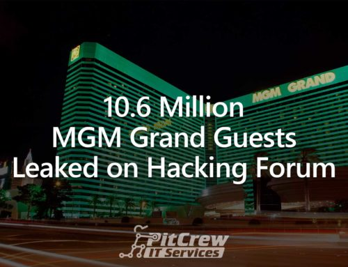 10.6 Million MGM Grand Guests Leaked on Hacking Forum