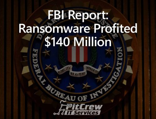 FBI Report: Ransomware Profited $140 Million