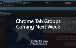 Chrome Tab Groups Coming Next Week