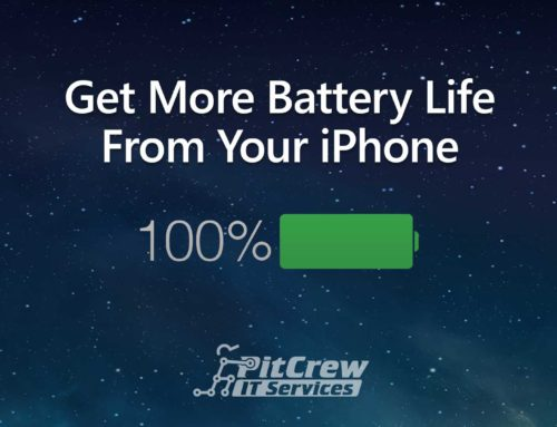 Get More Battery Life From Your iPhone