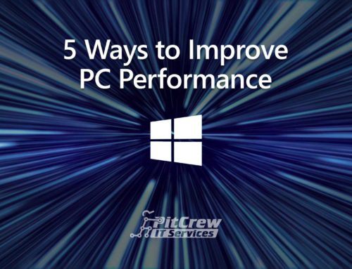 5 Ways to Improve PC Performance