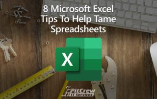 8 Microsoft Excel Tips To Help Tame Spreadsheets