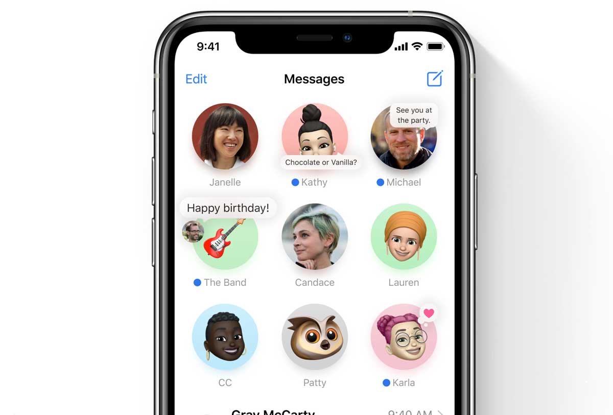 iOS 14 Features: Messages