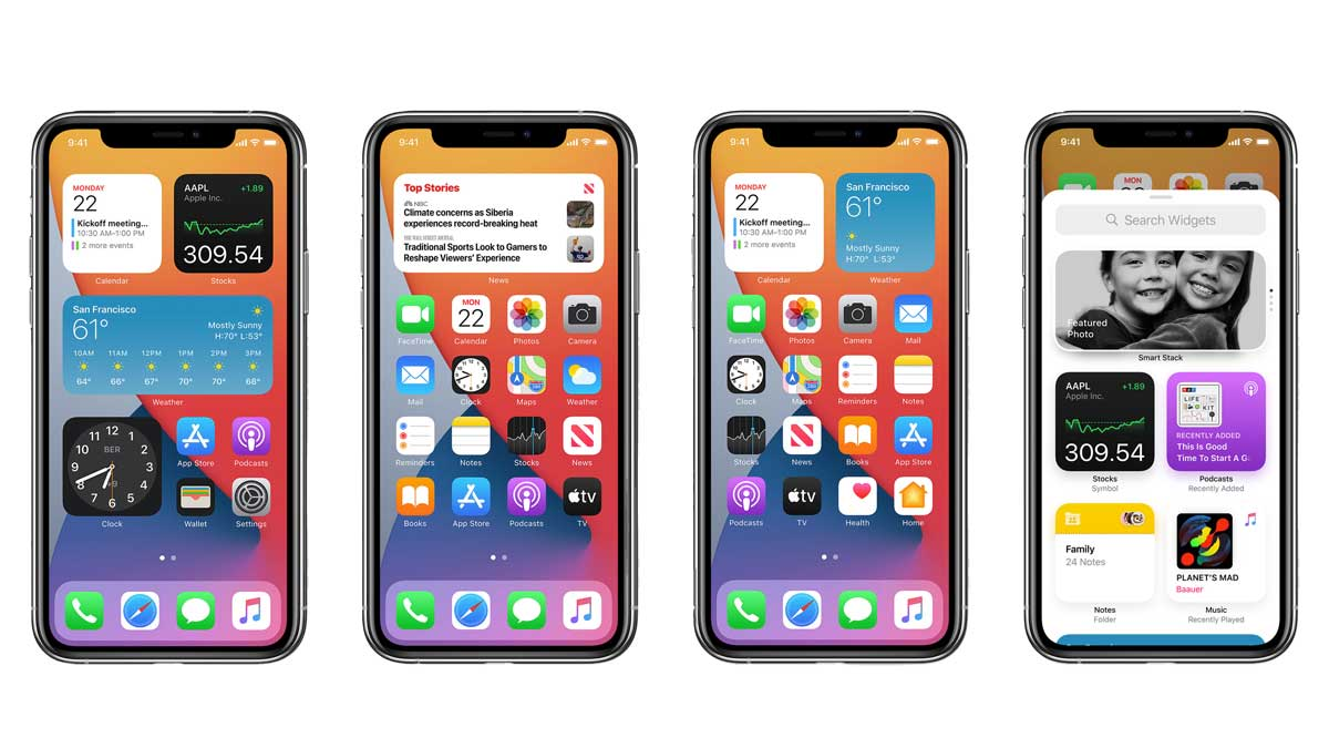 iOS 14 Features: Widgets