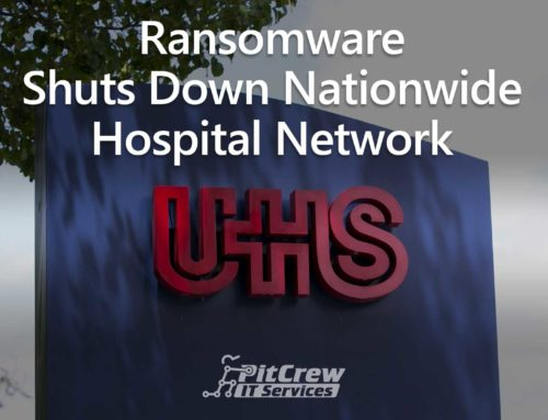 Ransomware Shuts Down Nationwide Hospital Network