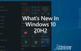 What's New In Windows 10 20H2